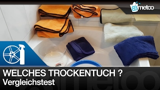 Welches Trockentuch ist das Beste - Orange Babies - Gyeon - Liquid Elements - Microfiber Madness