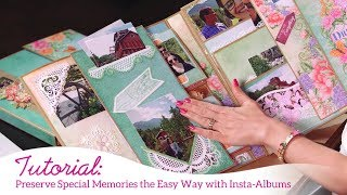 Preserve Special Memories the EZ Way with Insta-Albums