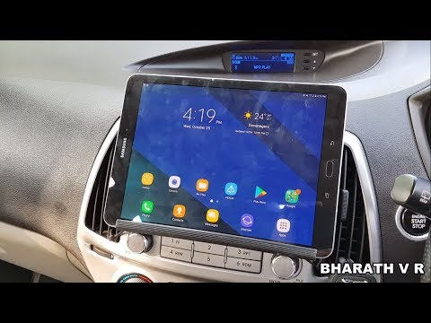 How to install a tablet (removable) in your car dash