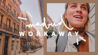 WORKAWAY day in the life | Madrid, Spain language exchange ☀