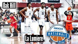2019 GEICO Nationals: La Lumiere hangs on in the final seconds vs. Oak Hill
