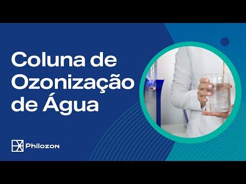 Coluna de Ozonização de Água