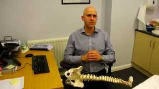 preview picture of video 'Brentwood Physiotherapy -- IDD Therapy Spinal Decompression with Dan Smith of Sports & Spinal Physio'