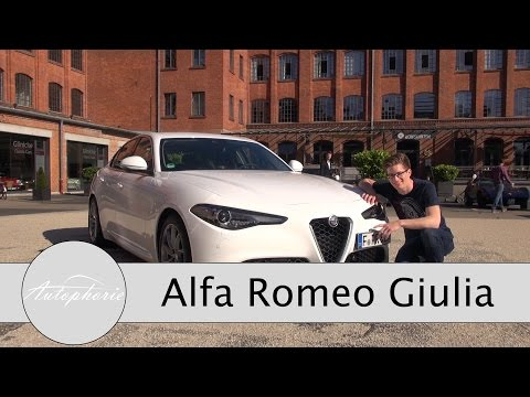 2016 Alfa Romeo Giulia SUPER  im Test / Fahrbericht / Review - Autophorie