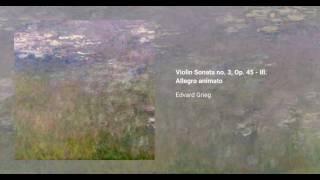 Violin Sonata no. 3, Op. 45