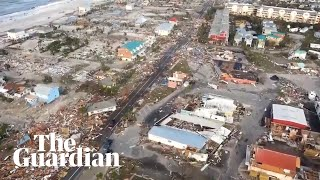 Hurricane Michael: footage shows devastation in Florida
