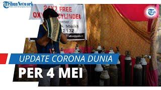 Update Corona Dunia per 154,1 Juta Terinfeksi, India Catatkan 355 Ribu Kasus Baru dalam Sehari
