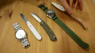 Benchmade Proper vs. Victorinox Swiss Army   Gentleman EDC Gear   Werkzeug Tool   Uhren Clock Watch