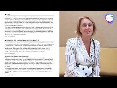 Яна Юцковская ► О Разведении Радиесс (Radiesse) ► Рекомендации для Косметологов