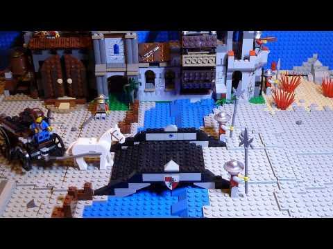 Vidéo LEGO Kingdoms 7189 : L'attaque du village du moulin
