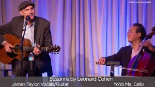 """Suzanne"" by Leonard Cohen - James and Yo-Yo Ma"