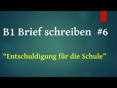B1 Brief Schreiben 3 Einladung Für Die Hochzeit Einfach Deutsch