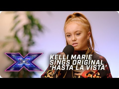 Kellimarie sings original 'Hasta La Vista' in FIRE audition | X Factor: The Band | Auditions