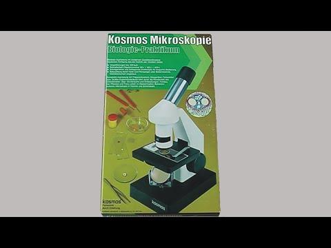 Kosmos Mikroskopie Biologie Praktikum Experimentierkasten 1980
