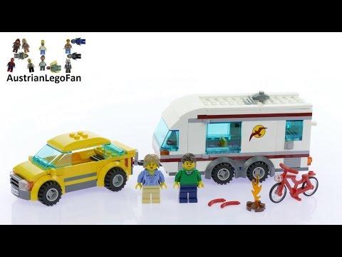 Vidéo LEGO City 4435 : La voiture et sa caravane
