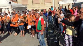 preview picture of video 'Inno di Mameli @ VI festival Contemporaneamente di Vezzano Ligure (SP) 13/09/2014'