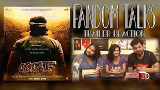 Fandom Talks: North Indians Reacts to Kannada Movie KGF Trailer Hindi | Yash | Srinidhi
