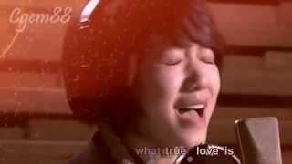 [OST You're Beautiful] English Remake Karaoke Without Words Park Shin Hye