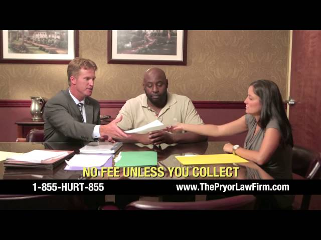 The Pryor Law Firm - TV Commercial