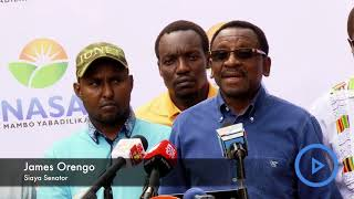 Orengo: Gangs recruited to kill Nasa supporters - VIDEO