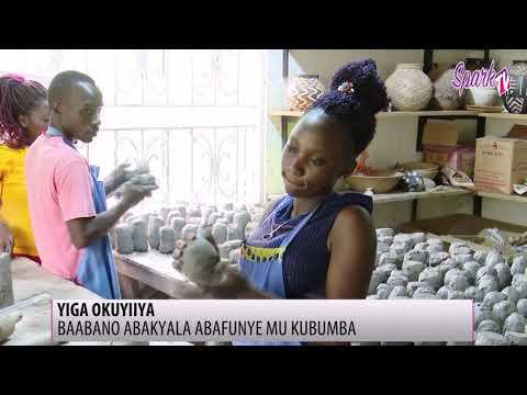 YIGA OKUYIIYA: Baabano abakyala abafunye mu kubumba