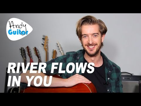 RIVER FLOWS IN YOU Guitar Tutorial // MADE EASY Beginner friendly