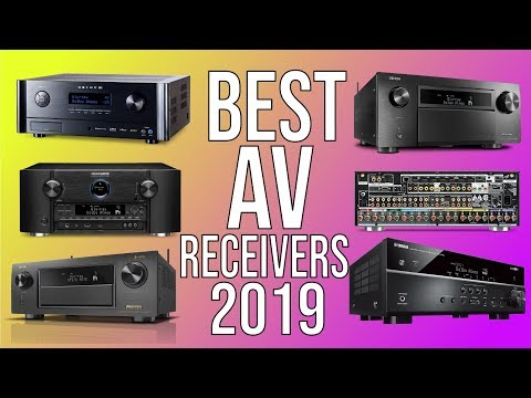 BEST AV RECEIVERS 2019 - TOP 10 BEST A/V RECEIVER 2019 | HOME THEATER