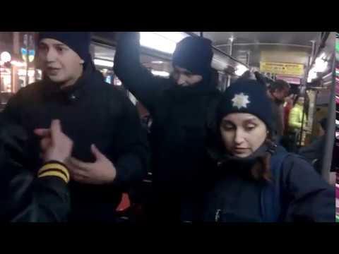 Вечерние разборки в Днепропетровском трамвае №1