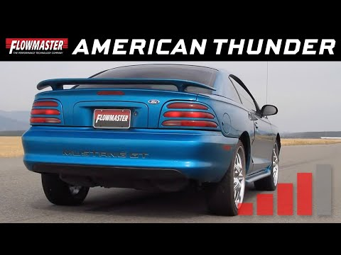 1986-04 Ford Mustang GT, LX Cobra, 4.6L, 5.0L- American Thunder Extreme Exhaust
