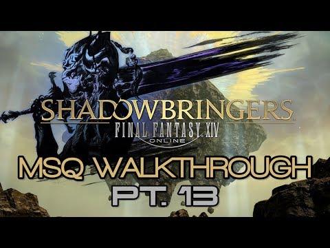 Download Ffxiv Shadowbringers Msq Walkthrough Part 12 Ousting The