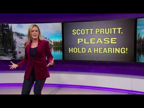 Hi, Scott Pruitt, This Is Our Official Request For A Hearing