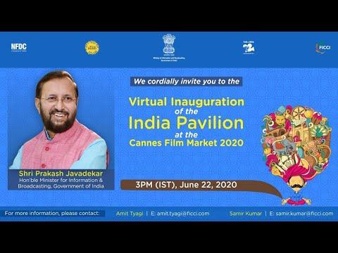 Virtual Inauguration of India Pavilion | Cannes Film Market 2020