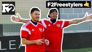 F2Freestylers в России. Челленджи с Живым Футболом и IFreestyle. Мнение насчет наклбола и вратарях.