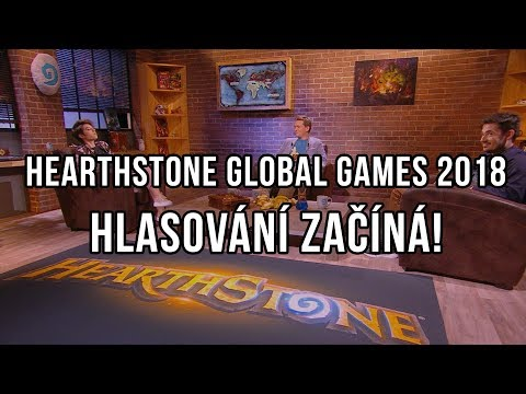 Hearthstone Global Games 2018 - HLASOVÁNÍ ZAČÍNÁ