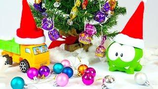 Мультик с игрушками - Ам Ням готовится к Новому году
