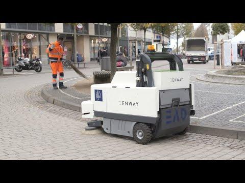 Enway: Autonome Reinigung bereitet den Weg