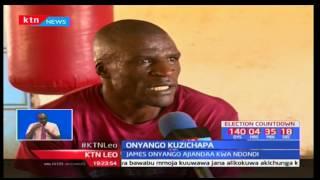 Bingwa wa ndondi James Onyango amedokeza nia yake ya kutaka kumiliki taji la WBF