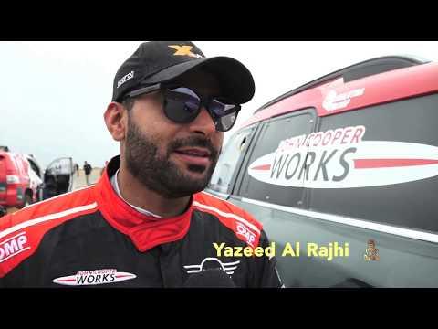 Yazeed Al Rajhi & Timo Gottschalk securing 7th place in Rally Dakar 2019