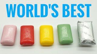 World's Best Bubble Gum Chewing Gum Worldwide Top 7