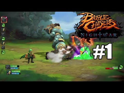 Battle Chasers: Nightwar (Xbox One) Gameplay #1 - Classic Turn Based Action!