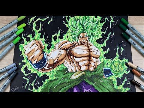Drawing Broly Full Power Drawing Battle Vs Aayush Pencil