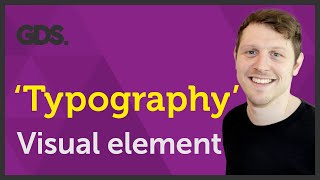 'Typography' Visual Element Of Graphic Design Ep8/45 [Beginners Guide To Graphic Design]