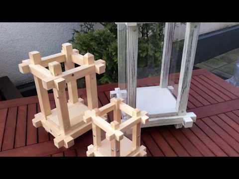 Gartenlaterne zum selbst bauen