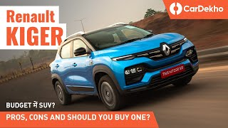 Renault Kiger 2021 Pros and Cons In Hindi: SUV बिलकुल BUDGET में?