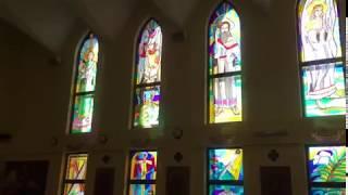 Репетиция концерта в католическом соборе