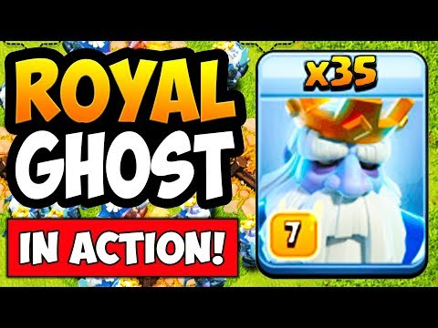 NEW TROOP LEAKED! ROYAL GHOST GAMEPLAY! CLASH OF CLANS TH13 UPDATE! COC