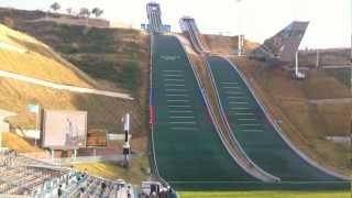 preview picture of video '1 Almaty Ski jump'