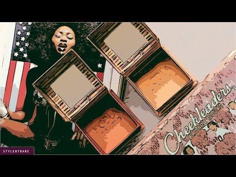 Cheekleaders Pink Squad Mini Cheek Palette by Benefit #4