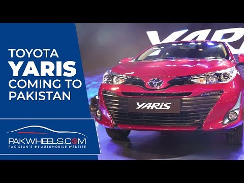 Toyota Yaris 2019 in Pakistan | PakWheels