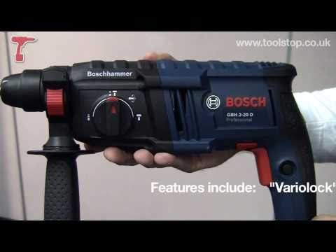 Bosch GBH2-20D 2 kilo SDS-plus hammer drill - BRAND NEW!